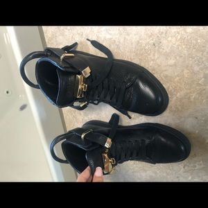 Buscemi black shoes for women size 38